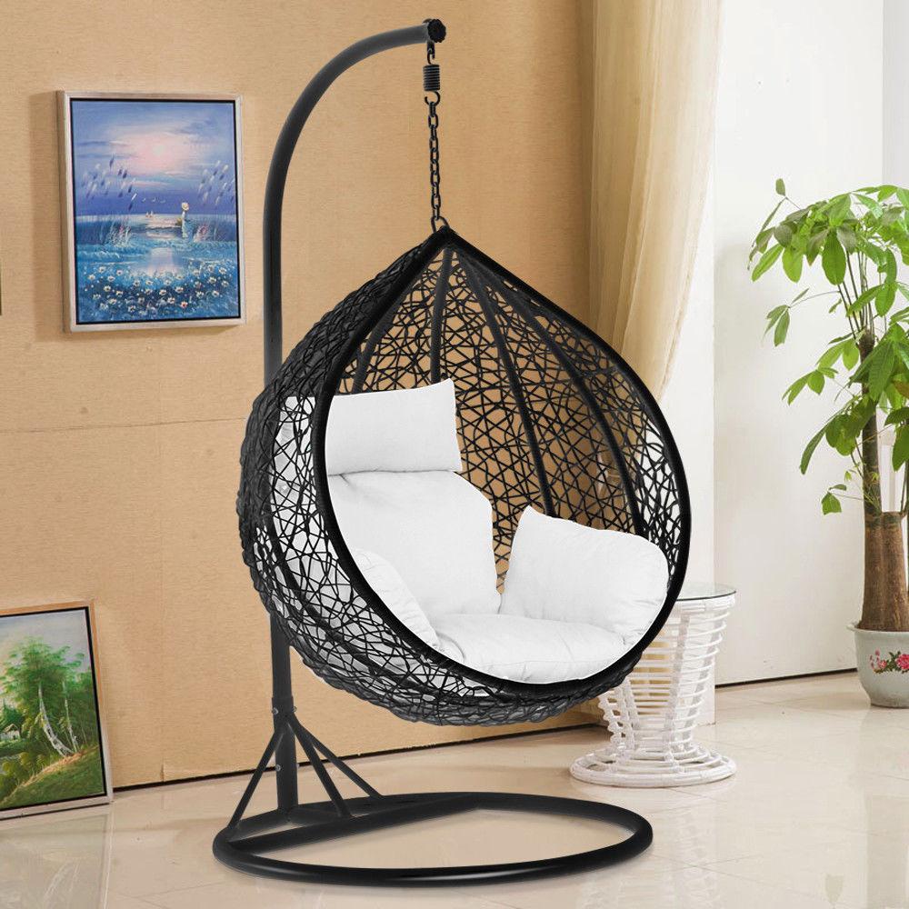 Beautiful Relaxing Terrace Handmade Rattan Wicker Indoor Swing ...