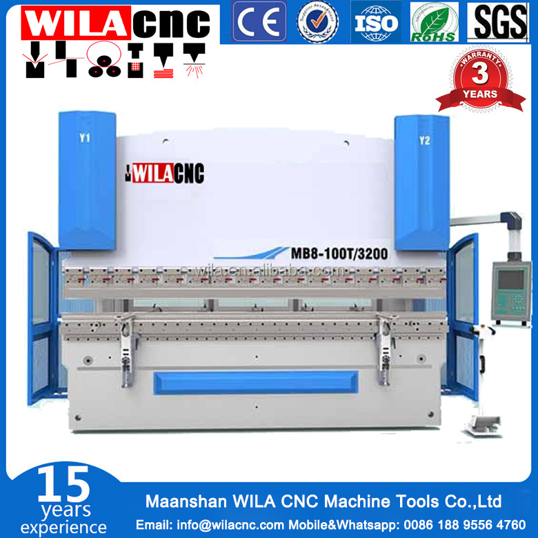 Top quality and reasonable price 50tons hydraulic press brake,2.5 meters bending machine