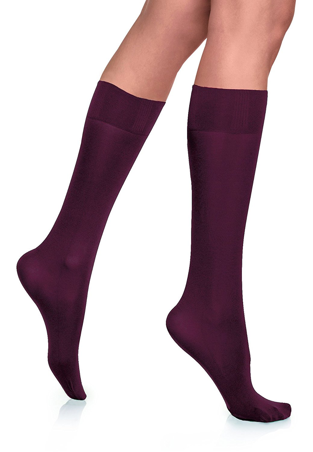 7996acfef23 Buy Opaque Knee High Socks White White opaque knee high socks with ...