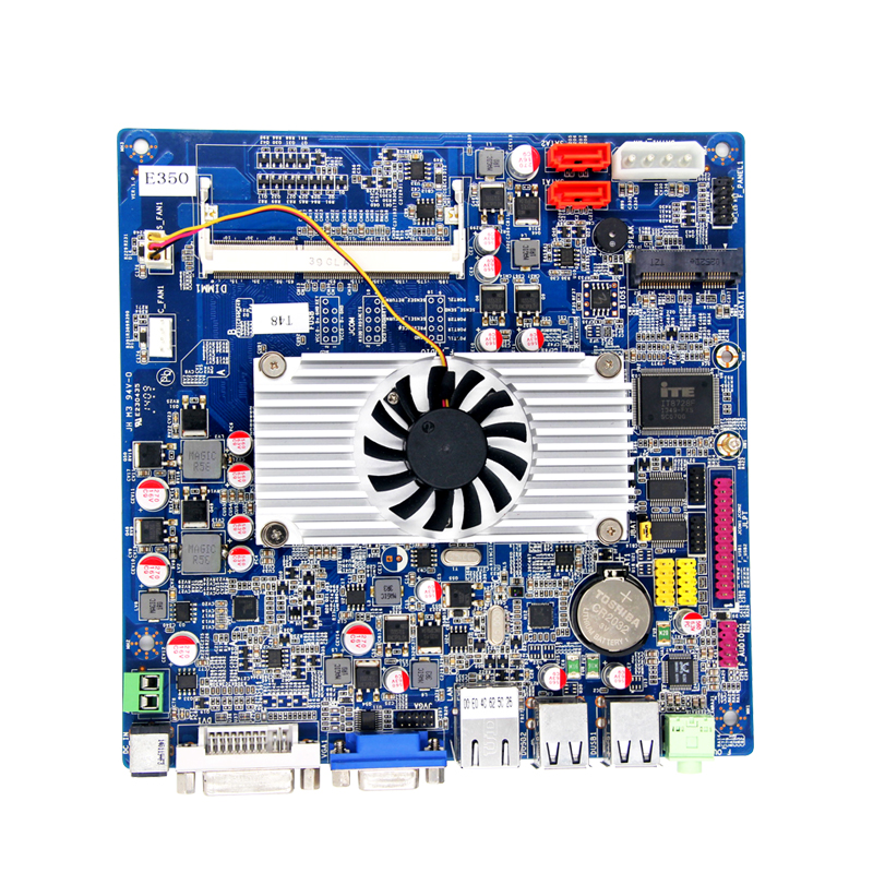 X86 Amd E450 Mini Itx Mainboard With Amd Radeon Hd 6310 Support Vga+dvi  Double Screen - Buy X86 Amd E450 Mini Itx Mainboard With Amd Radeon Hd