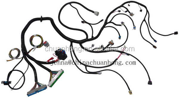 3 Way Ignition Coil Pack Connector Wire Harness For Nis San Altima