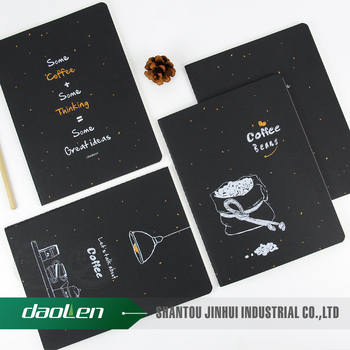 Paper notebook line notepad book soft copybook daily journal notebooks