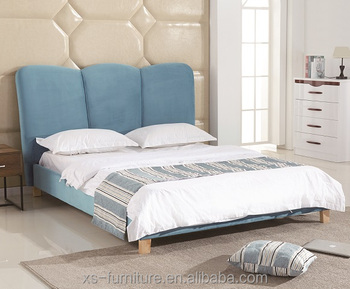 Bedroom Furniture Upholster Beds Modern Home Furniture Cheap Fabric Beds -  Buy Bedroom Furniture,Modern Beds,Fabric And Pu Beds Product on Alibaba.com