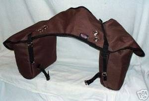 Weaver Brown Insulated Heavy Duty Trail Saddle Bag