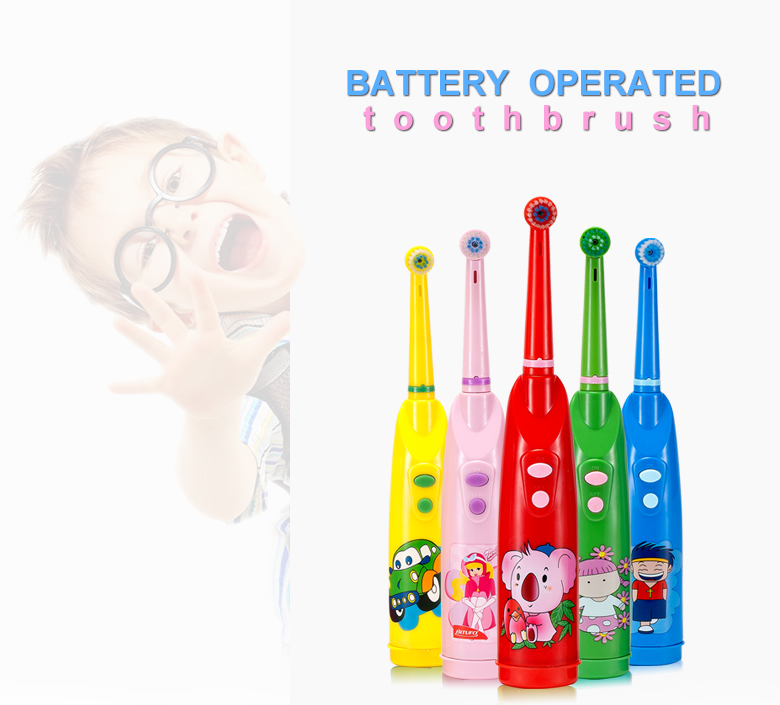children Best bounce up toothbrush with replaceable brush head