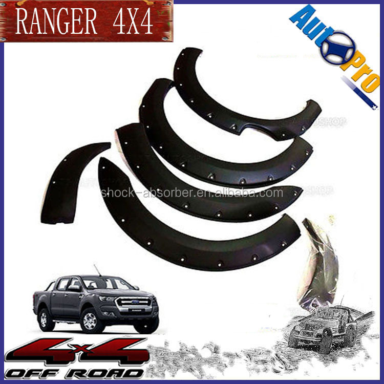 Fender Flares For FORDs Ranger 2016 Accessories FORDs Ranger