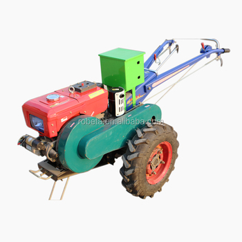 Mini Track Water Tank Rotary Electric Plough Rice Planting