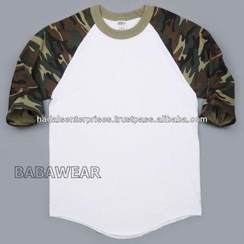 fd2e04f8c Men's Customized Baseball Raglan T Shirts - Buy Raglan Sleeve Shirt ...