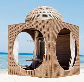 Indian Style 5 Star Hotel Outdoor Lounge Gazebo Furniture Luxury