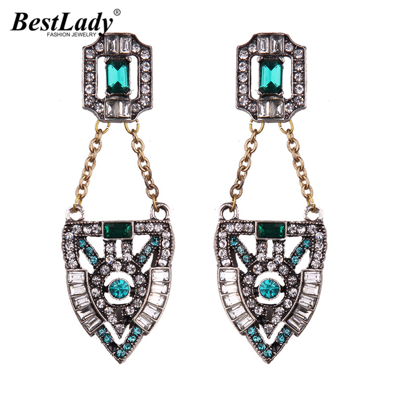 Barlaycs Fashion Jewelry Vintage Maxi Earrings Bohemian Brand Hot Sale Wedding Drop Dangle Earrings For Women Cheap Bijoux 5188