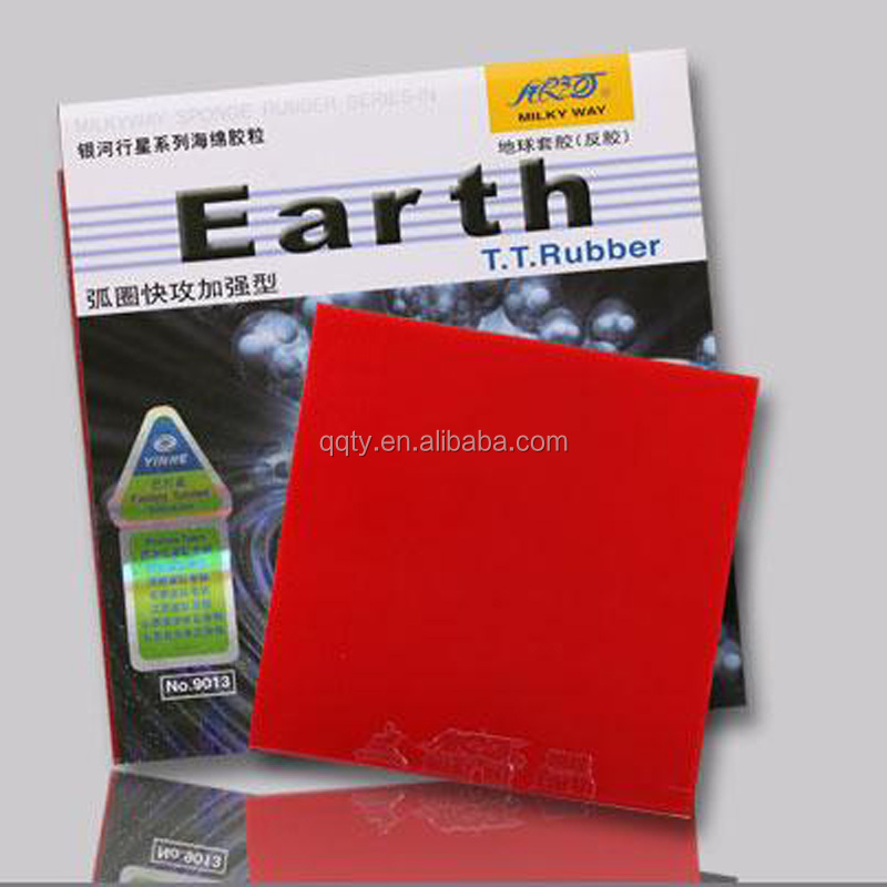 Hot Sell Earth Pimple in Table Tennis Rubber