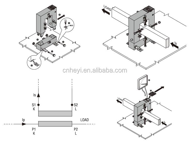 split core current transformer 500  5 dp