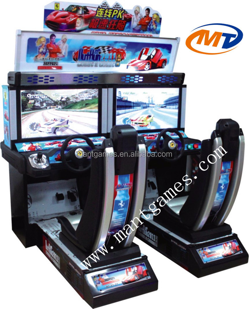 Crazy Hd Outrun 2014 Indoor Arcade Car Racing Game Machine Type ...