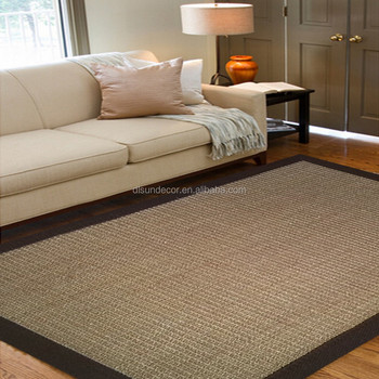 latex backing sisal rugs natural sisal carpet