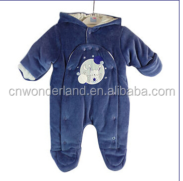 baby clothes winter new arrivals newborn padded overalls blue snowsuits skiwear baby winter romper