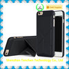 Hard PC back cover case with PU leather Magnet changeable stand mobile phone case for iPhone6 &