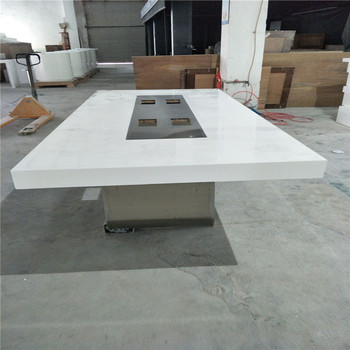 Stainless Steel Pedestal U Shape Conference Table Meeting Tabletw - Pedestal conference table