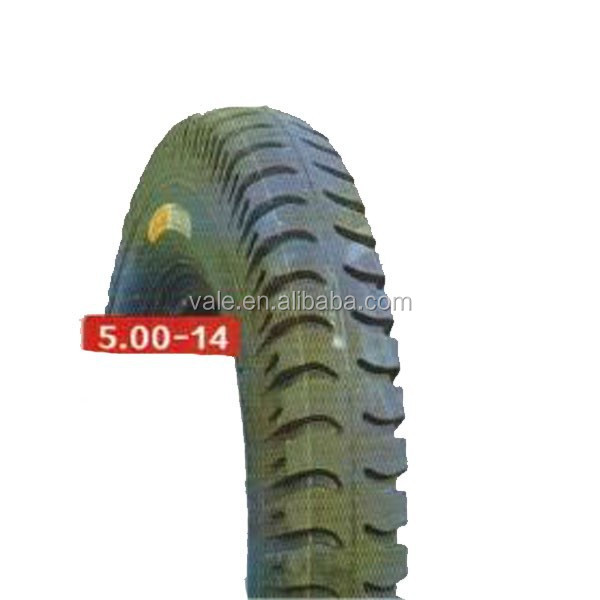 High Quality Wholesale Rubber Motorcycle Tyre 5.0-14