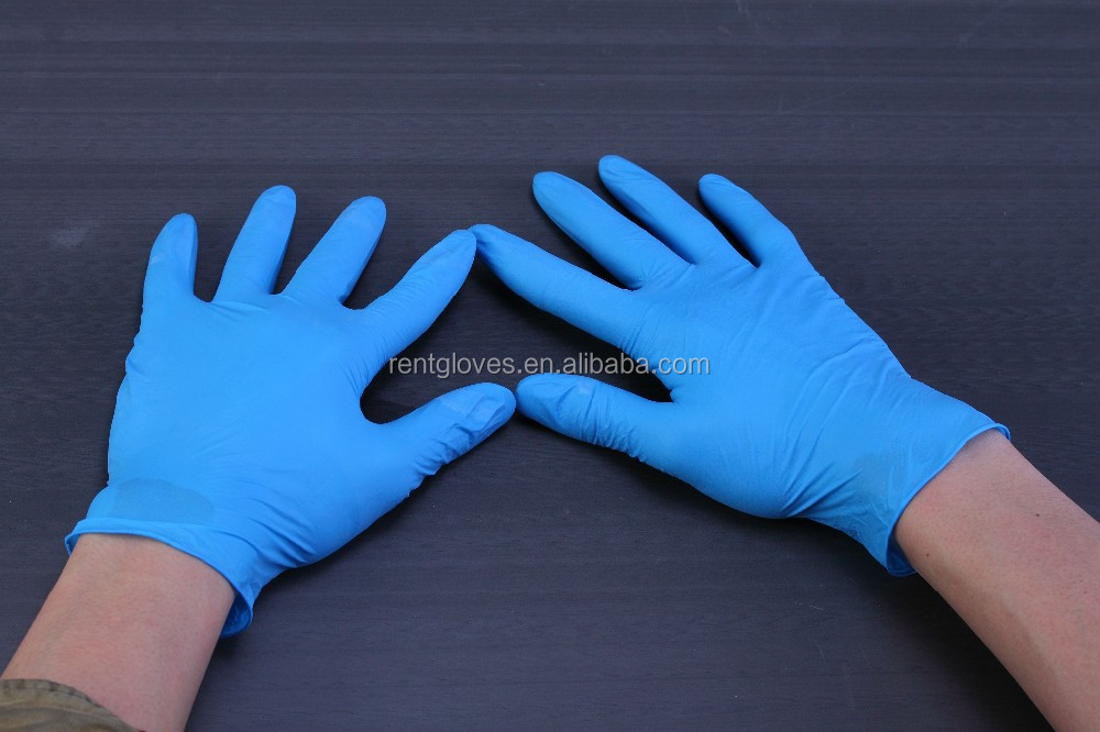 Medico Guantes De Nitrilo Gloves Examination Medical Gloves Nitrile Single Use Either Hand