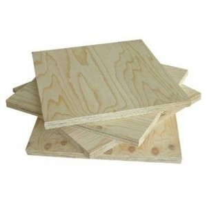 E0 wbp glue radiata pine 1220*2440 plywood industry store from China factory