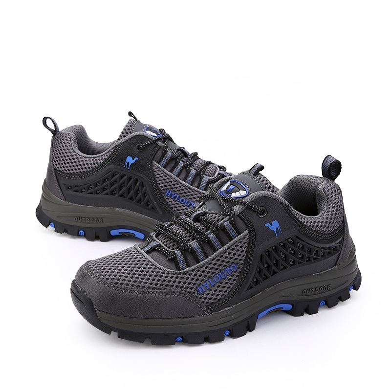Men Hiking Climbing Shoes 2015 Athletic Mountain trekking Leather Shoes men Outdoor Hiking Warm sneakers Shoes zapatos hombre