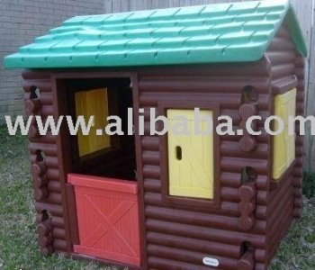 Little Tikes Log Cabin Playhouse Fort Tykesplastic Toys Buy