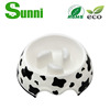 PET cartoon wholesale dog salad bowl with Custom Logo
