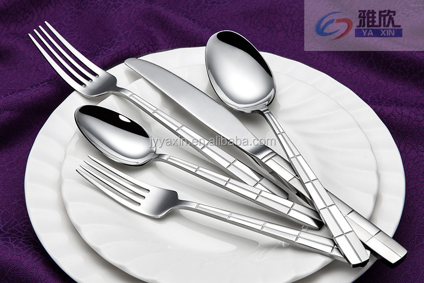 China Suppliers 2016 New Design Dinner Set Airline Cutlery Set ...