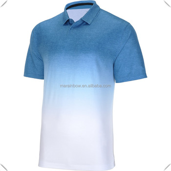High quality tie dye custom sublimation printing Sports Authority Men's golf Polo Shirts wholesale made in China factory