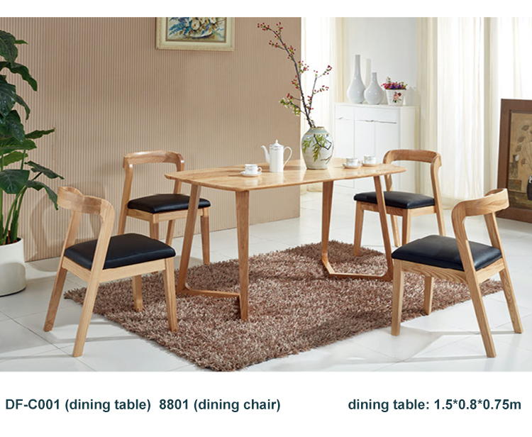 High quality dining table wooden dining table and chairs