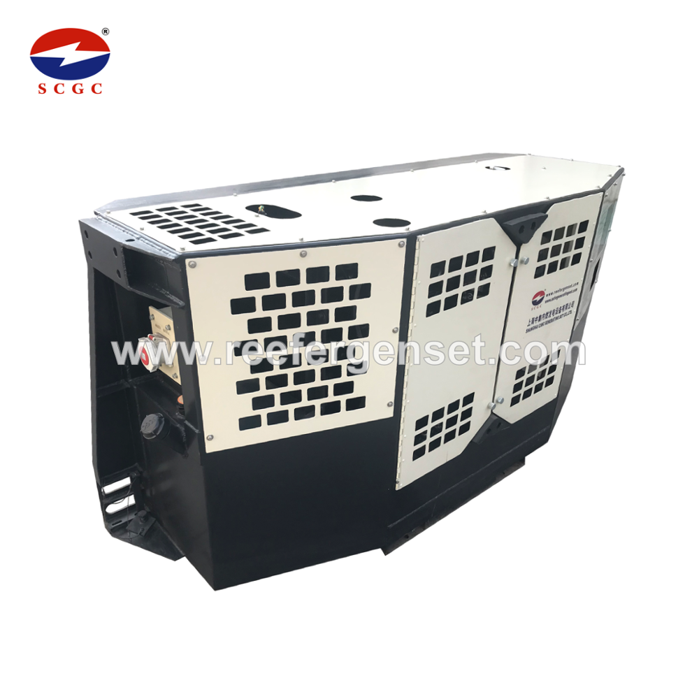 Pin mount Generator Set Voor Reefer Container