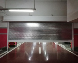 High quality automatic insulated steel fire rated roller shutter for commercial building