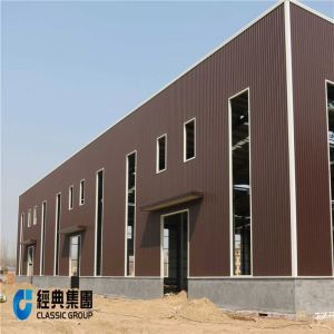 Industrial Portal Frame Design Steel Structure Building
