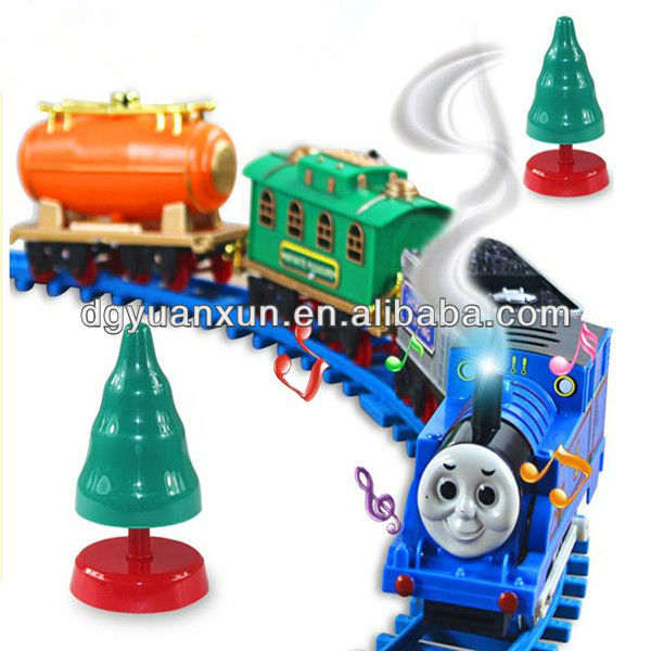 2015 hottest plastic trian track set toy for importer of wholesale from china icti manufacture