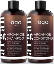Organic <span class=keywords><strong>Marokkaanse</strong></span> Arganolie <span class=keywords><strong>Shampoo</strong></span> en Conditioner Set-(2x16 Fl Oz/473 ml) -sulfaat Gratis-Volumizing & Hydraterende