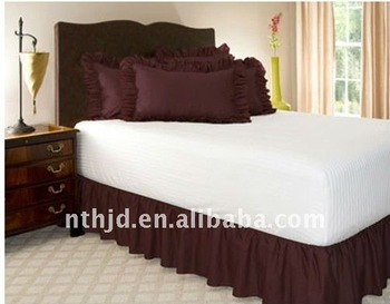 Bed Skirt For 5 Star Hotels Buy Fitted Bed Skirt King Size Bed Skirts Queen Size Bed Skirts Product On Alibaba Com