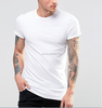 100% cotton white plain t shirts for printing