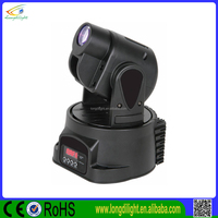 15W LED Mini Moving Head Spot RGB Stage Lighting Gobos Club DJ Party Light