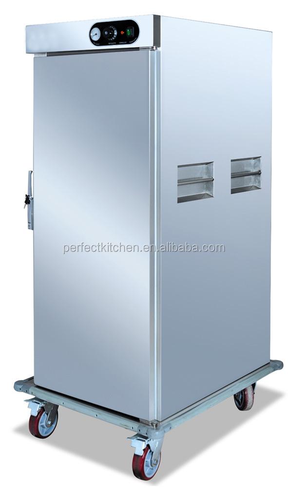 Single Door Warmer ~ Double doors electric food warmer trolley hospital