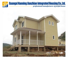 China Supplier Manufacturers Prefab Apartments House Wooden Chalet