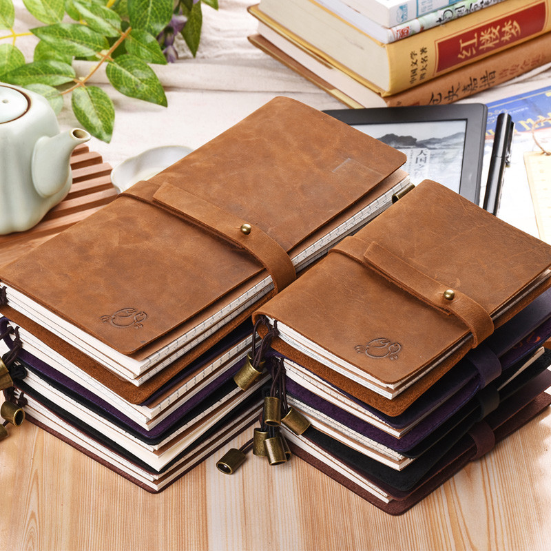 genuine thick leather journal notebook book cover buy leather