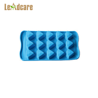 Custom-Made New Food Grade Blue Diamond Shaped Chocolate Silicone Molds,Cake Mould Bakeware