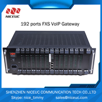 IP PBX 192 Ports with FXS/FXO/ 4 E1 ports support 500 IP Users