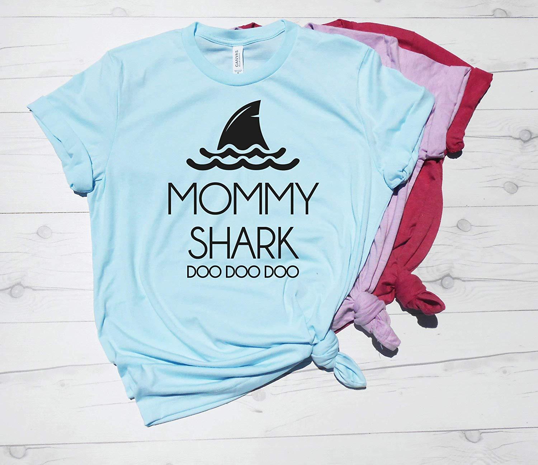 3ff468b11fa Get Quotations · Mommy Shark Doo Doo Doo Shirt