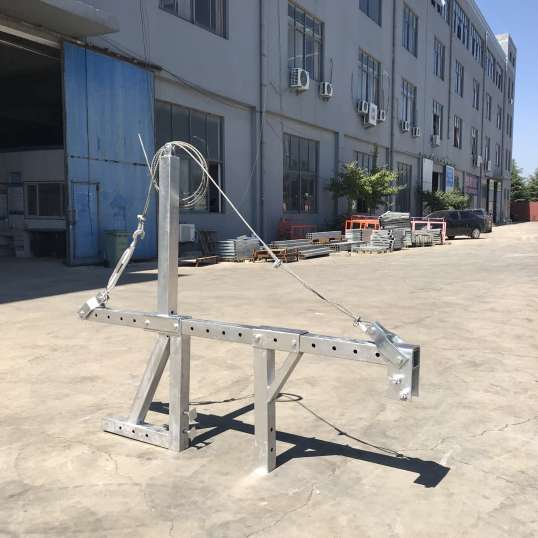 Zlp Electric Construction Building Swing Stage Scaffold Work For External Wall Cleaning Glasses Buy Hanging Scaffold Systems Aluminum Stage
