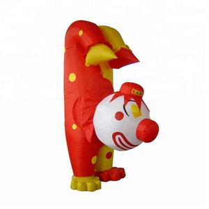 Customized lovely inflatable strong cartoon characters for sale