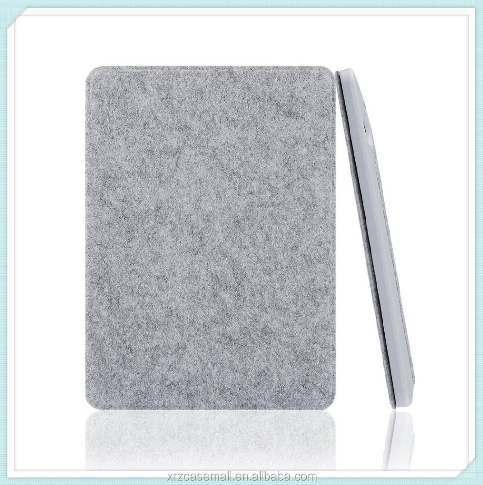 High quality wool felt material for Kindle Voyage Case Cover With Smart Auto Sleep/Wake Function for Kindle Voyage 6""