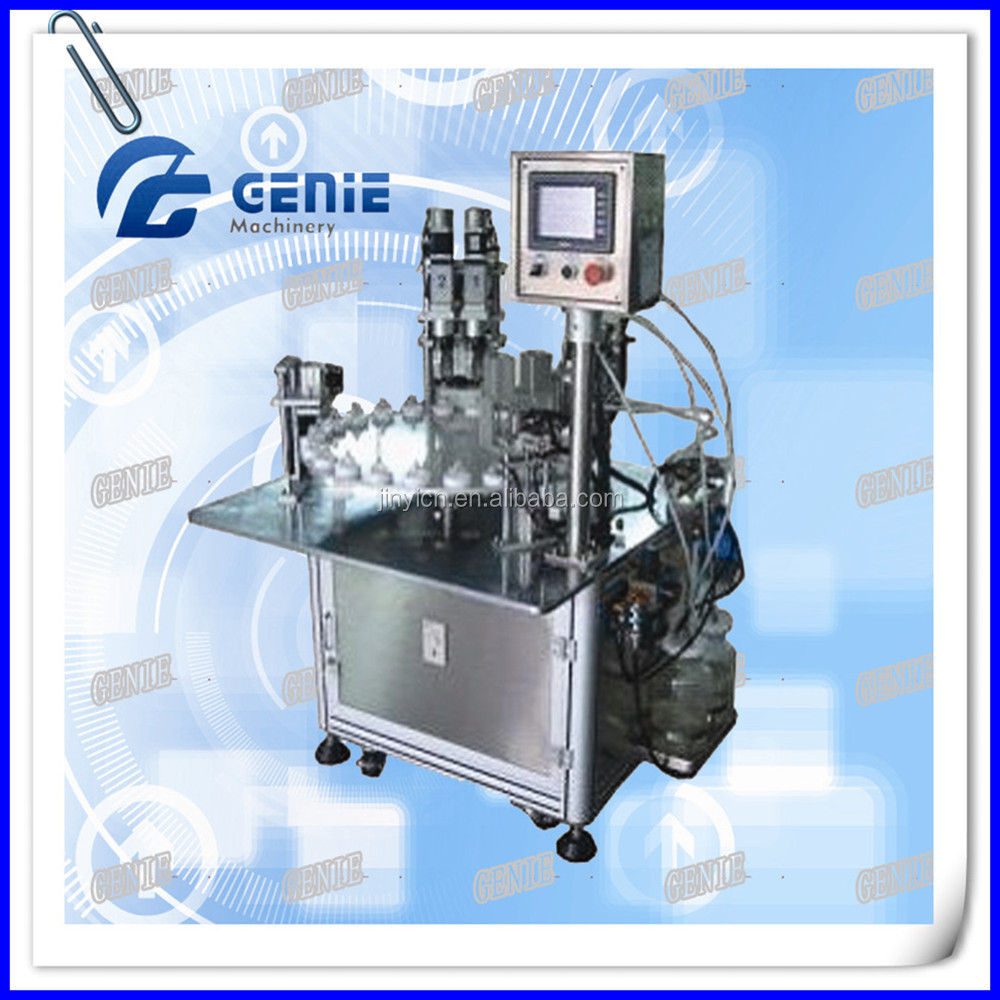 JNF Automatic Nail polish and perfume liquid cosmetic filling machine,rotary filling machine
