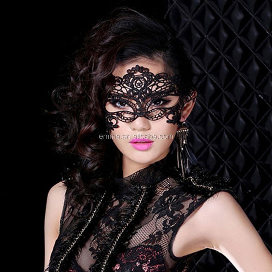 High Quality China Wholesale Lady Sexy Lace Party Eye Mask/fashion ...