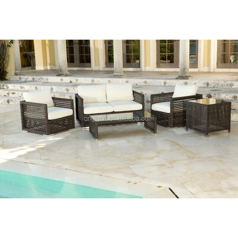 Deep Seating 4 Pcs Garden Chairs Airy Woven With Wide Pe Wicker  # Muebles Sleeping Dogs